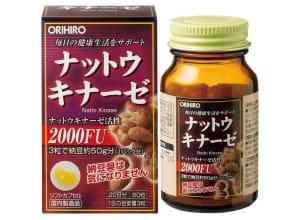 ORIHIRO Natto Kinase - ферментированный экстракт натто (60 шт на 20 дней)