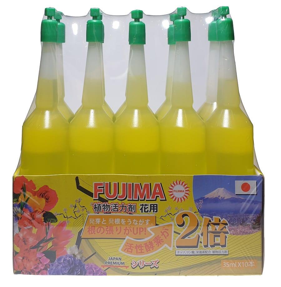 Жёлтое удобрение (для цветов и деревьев) (цена за упаковку — 10 бутыльков)