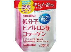 ORIHIRO Коллаген + Гиалуроновая кислота 11000 мг (180гр на 30 дней)